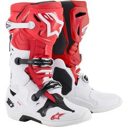 Alpinestars Mens Tech 10 Boots Red