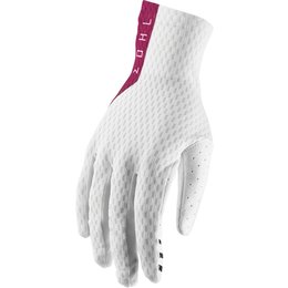 Thor Mens Agile Gloves White