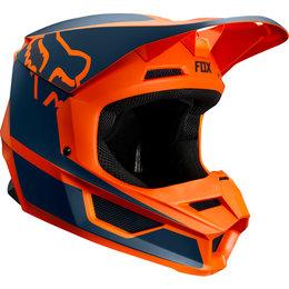 Fox Racing Youth V1 Przm MVRS Helmet Orange