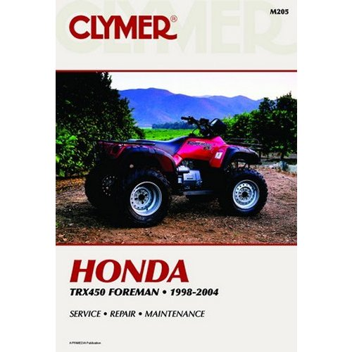 35 44 Clymer Repair Manual For Honda Atv Trx450 Foreman 631069 Rh  Ridersdiscount Com Arctic Cat