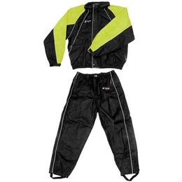 Frogg Toggs Hogg Togg Rainsuit Black Lime