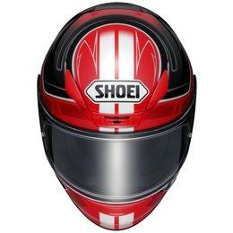 Shoei Mens RF-1200 RF1200 Valkyrie Full Face Helmet Red