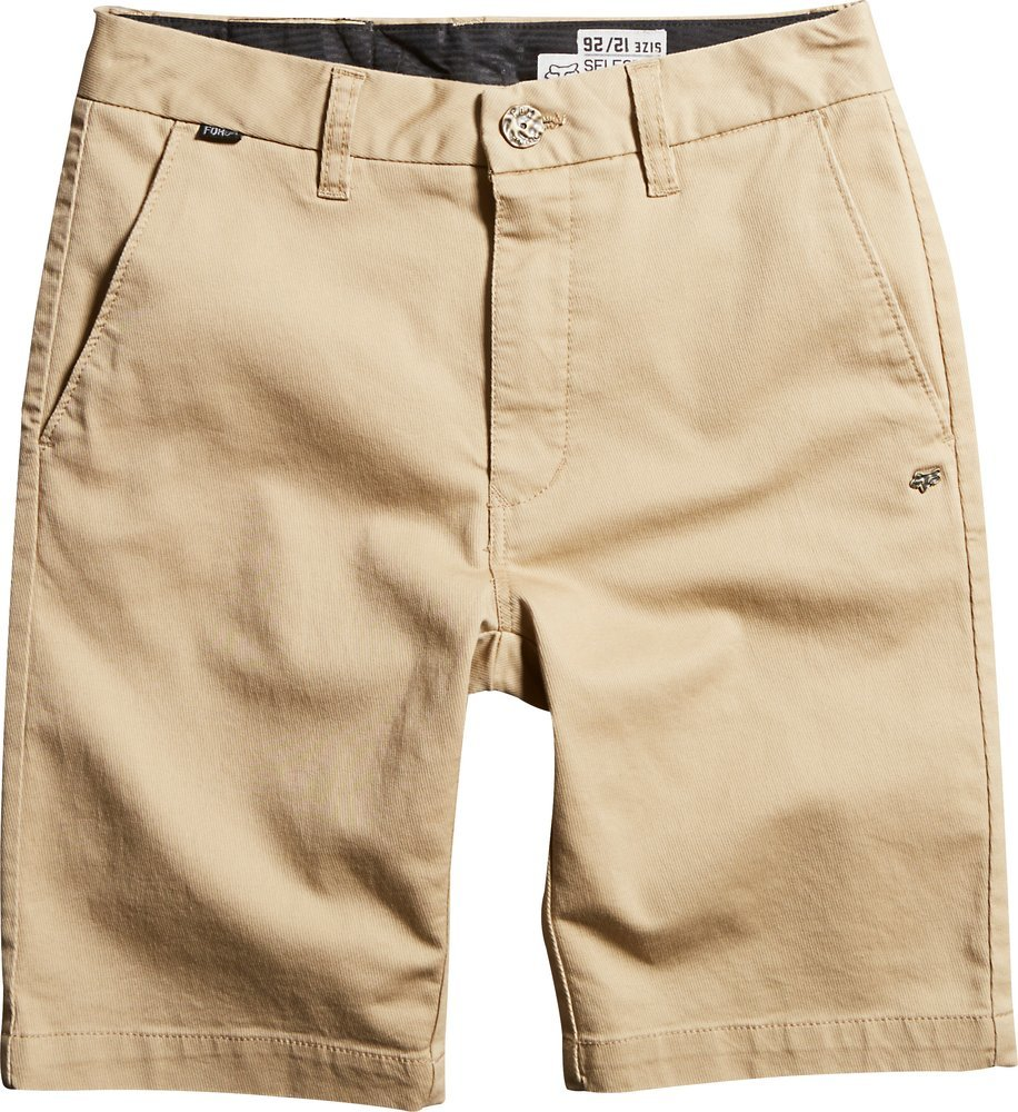 $30.06 Fox Racing Boys Selecter Chino Walk Shorts 2014 #198526