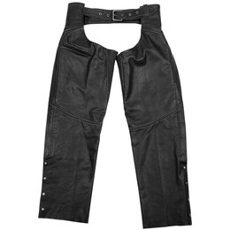 Black Brand Mens Torque Leather Chaps