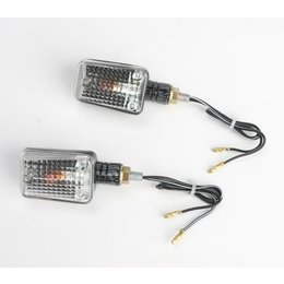 K&S Technologies Marker Lights Mini Stalk Carbon Fiber/Clear