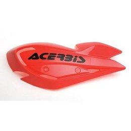 Acerbis Uniko ATV Hand Guards Red Universal Pair