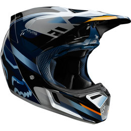 Fox Racing V3 Motif MVRS MIPS Helmet Blue
