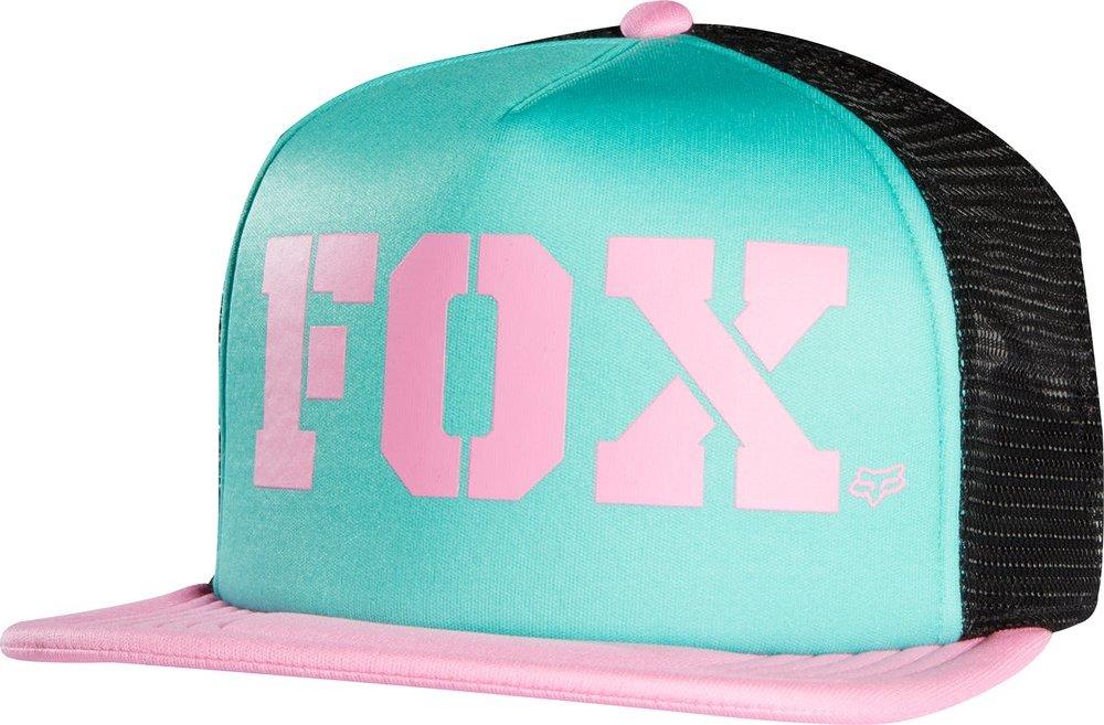 a1975c3e ... australia fox racing womens vapors flat bill snapback adjustable  trucker hat green 40d99 a9284