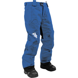 HMK Womens Dakota Bib Waterproof Snowmobile Pants Blue