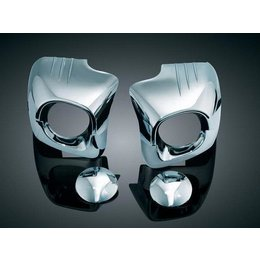 Kuryakyn Cowl Cover Lowers Chrome For Honda Goldwing 2001-2009 Silver