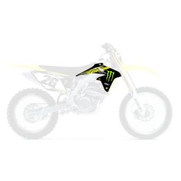 Factory Effex Monster Energy Shroud Graphic Kit For Suzuki RM-Z250 2010-2013