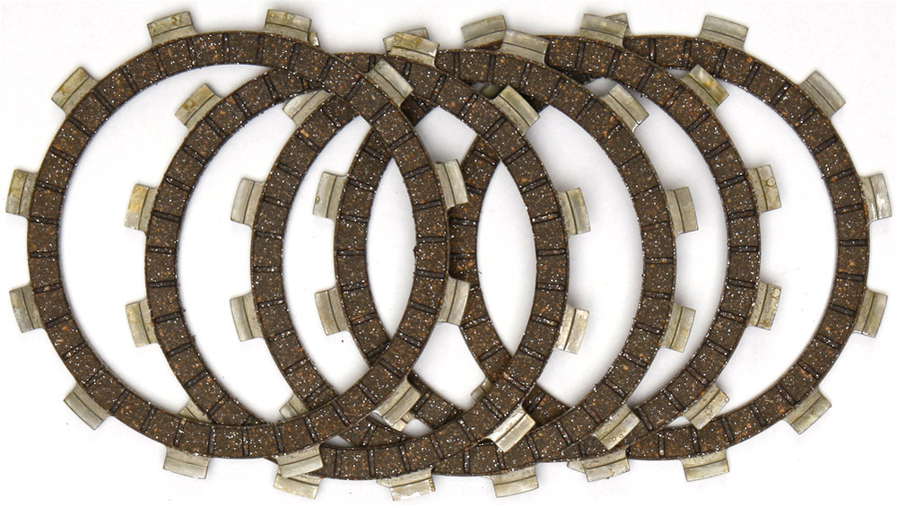 $45 86 EBC CKF Carbon Fiber Lined Race Clutch Plate Set #1034952