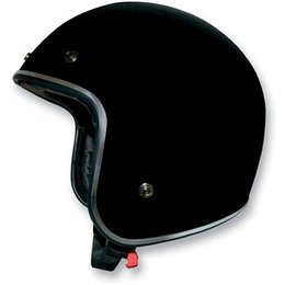 Black Afx Mens Fx-76 Fx76 Open Face Helmet