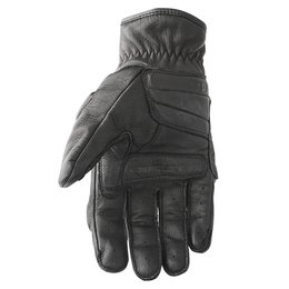 Black Speed & Strength Cruise Missile Leather Gloves 2014