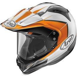 Orange Arai Xd4 Xd-4 Flare Dual Sport Helmet