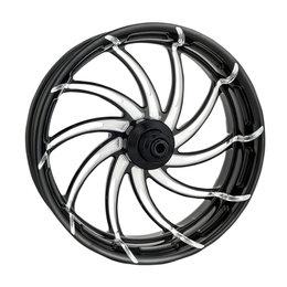 Performance Machine 21x3.5 Supra Front Wheel Harley For Black 12027106SUPAJBP Black