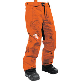 HMK Womens Dakota Bib Waterproof Snowmobile Pants Orange