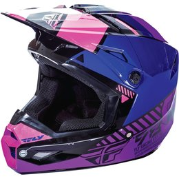 Fly Racing Womens Kinetic Elite Onset Helmet Pink
