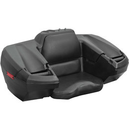 Quadboss Rest-N-Store Rear Trunk With Padded Seat For ATV QBF-R/S4 Black
