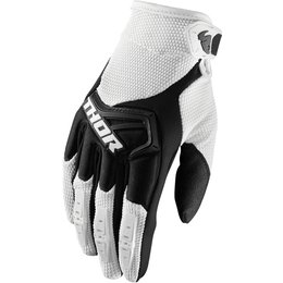 Thor Mens Spectrum MX Gloves White
