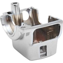 Drag Specialties Lower Left Radiused Switch Housing For Harley Chrome 0616-0076 Metallic