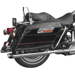Chrome Cycle Shack 3 In Mufflers Baloney For Harley Flh Flt 95-10