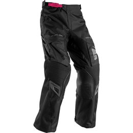 Thor Womens Terrain Contour Over The Boot Convertible Pants Black