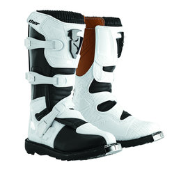 White Thor Womens Blitz Boots With Mx Soles 2014 Us 5