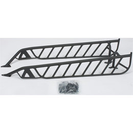 Skinz Air-Frame Snowmobile Running Boards For Yamaha Black YAFRB200-FBK Black