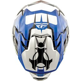 Fly Racing Toxin Graphic MX Helmet Blue
