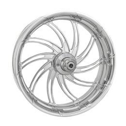 Performance Machine 18x5.5 Supra Rear Wheel Harley Chrome 12697814RSUPCH Unpainted