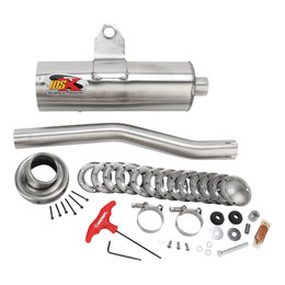Supertrapp IDSX Exhaust System Stainless Steel For Suzuki Kingquad 700/750