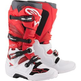 Alpinestars Mens Tech 7 MX Motocross Off-Road CE Riding Boots White
