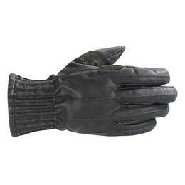 Black Alpinestars Stella Munich Drystar Gloves Blk