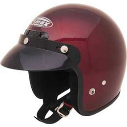 GMax GM2 Open Face Helmet Red