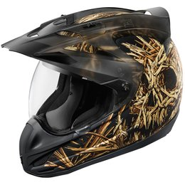 Icon Variant Splintered Dual Sport Helmet With Anti-Lift Visor