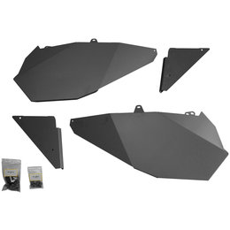 Dragonfire Racing Door Panel And Slammer Kit For Polaris RZR XP 1000 Black Black