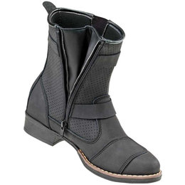 Joe Rocket Womens Moto Adira Leather Boots Black