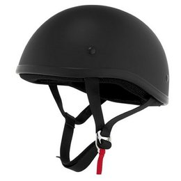 Flat Black Skid Lid Original Helmet