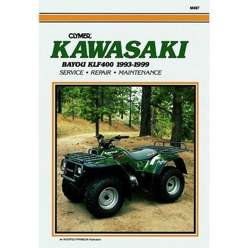 3820 Clymer Repair Manual For Kawasaki ATV Bayou KLF400 93 99 Does