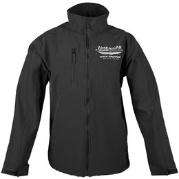 Black Honda Mens Goldwing Touring Collection Softshell Jacket 2013