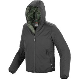 Spidi Sport Mens Scout Jack H2Out Armored Hooded Jacket Black