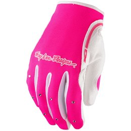 Troy Lee Designs Womens XC MX Motocross Off-Road Riding Gloves Pink