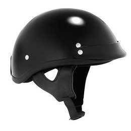 Black Skid Lid Traditional Helmet