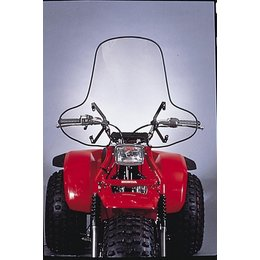 Clear Slipstreamer Ss-1 Windshield High Cut Atv Universal