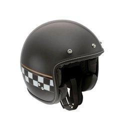 AGV RP60 RP-60 Cafe Racer Open Face Helmet Black