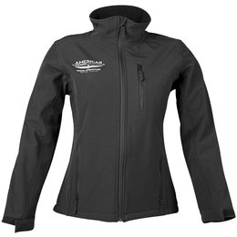 Black Honda Womens Goldwing Touring Collection Softshell Jacket 2013