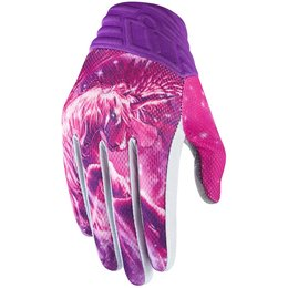 Icon Womens Anthem Sweet Dreams Textile Gloves Pink