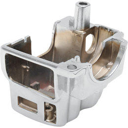 Drag Specialties Lower Right Radiused Switch Housing For Harley Chrome 0616-0145 Metallic