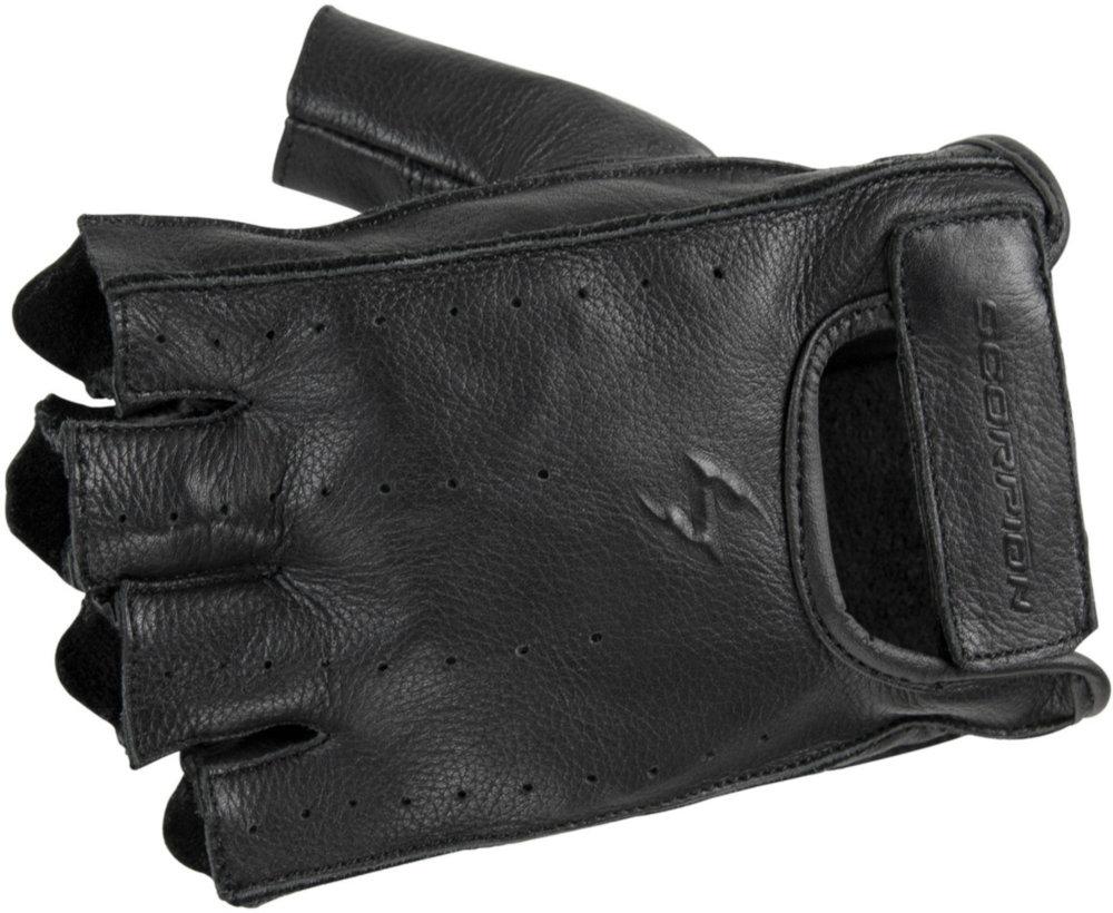 $19.95 Scorpion Mens Half Cut Fingerless Leather Gloves ...
